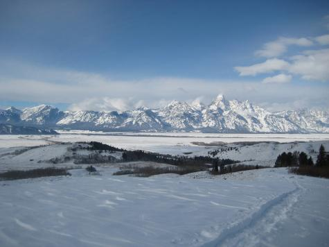 Times in the Tetons