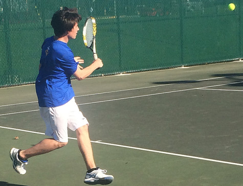 The future is bright for Wahlert's men's tennis program