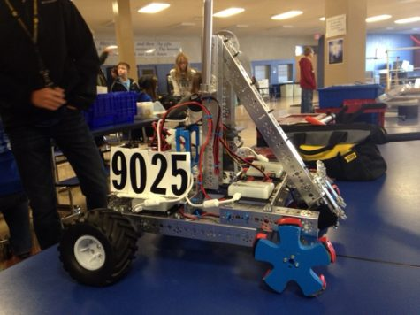 Team 9025's robot from last year.