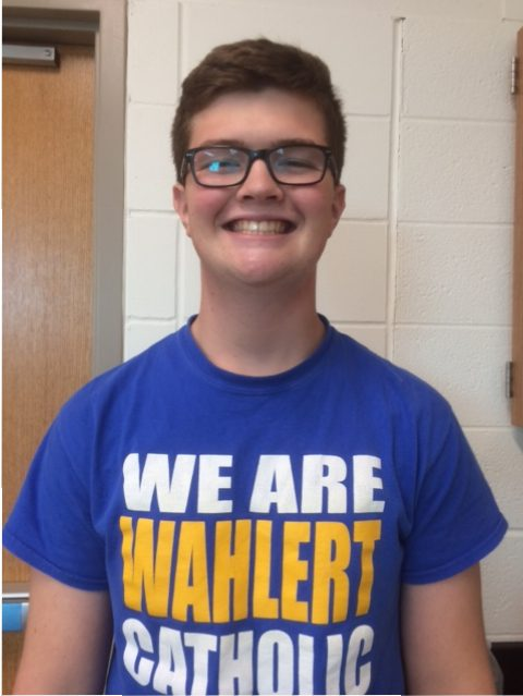 Owen Borelli, '18, took Loras' ACT prep course this September