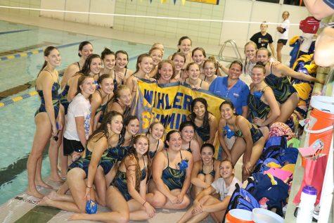 Girls' swim team has a record year
