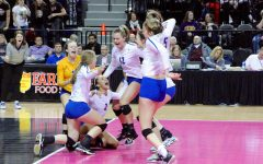 Swimming and volleyball soar at State