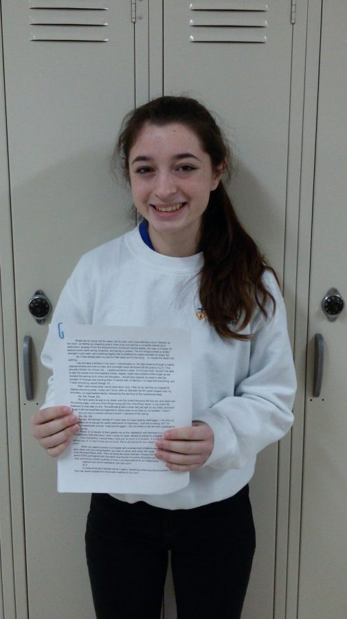 Wahlert freshman wins key to writing success
