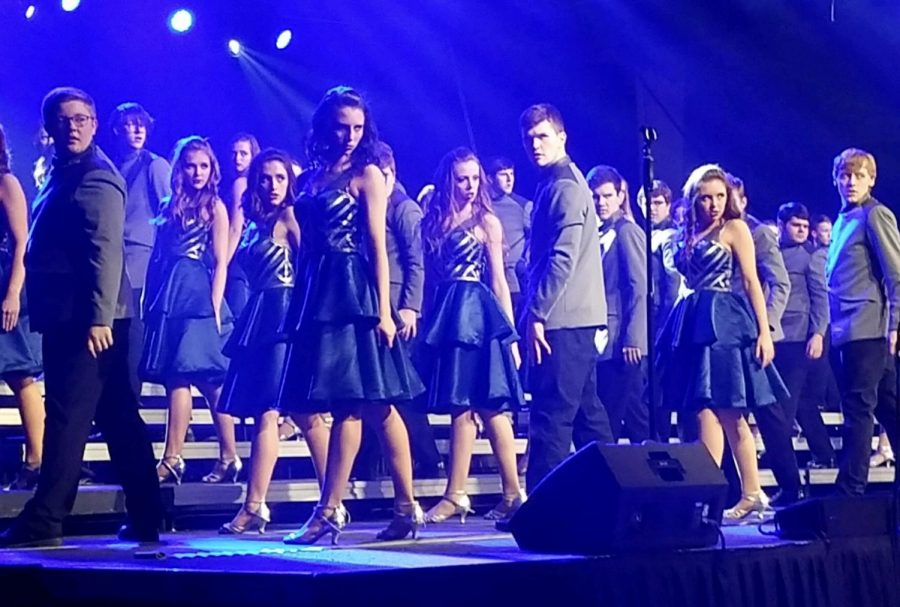 Last season, Impulse (as pictured) and Impact competed in Naperville.