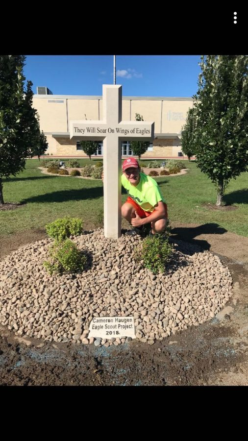 Haugen soars with final Eagle Scout project