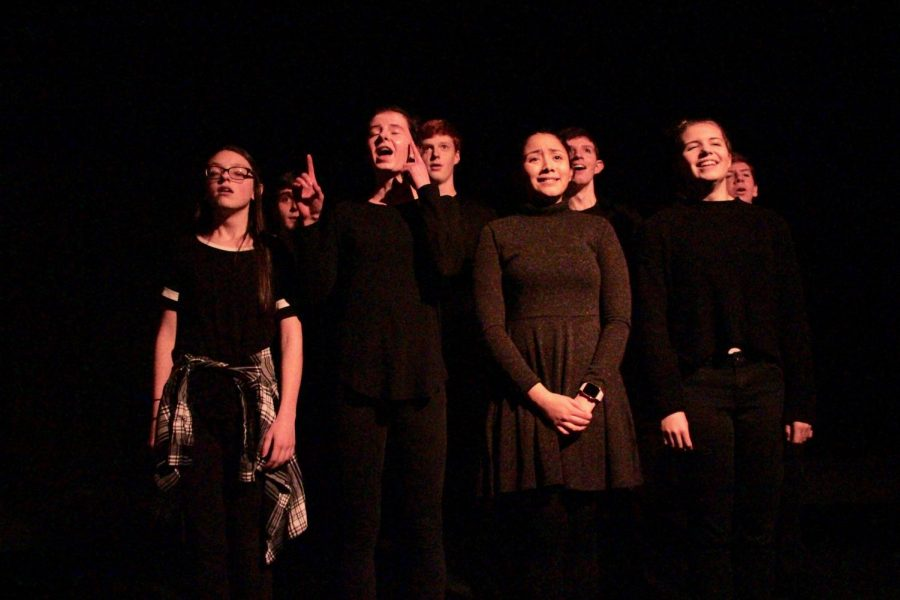 Students get a chance to shine at the Cabaret