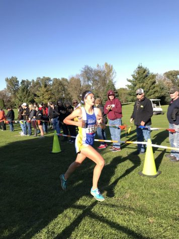 Moran juggles homework, state cross country