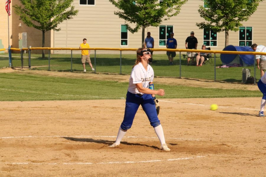 Softball team crushes competition