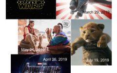 Upcoming movies of 2019