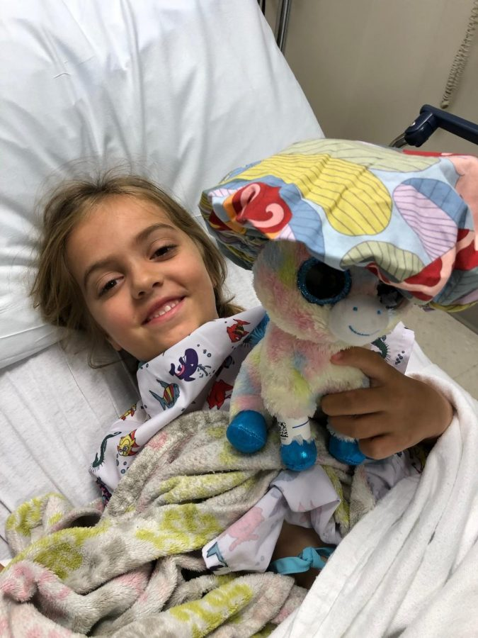 Charlotte Knuth, of Cascade, is one among thousands of kids who are helped by the University of Iowa Children's Hospital. Wahlert's dance marathon will take place on Jan. 19, where Charlotte and her family will share her story and the impact the Children's Hospital has made on them.