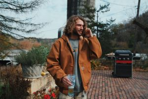 Stylin' in the city. Wahlert Alum, Jackson Takes, '16, created his own clothing brand,